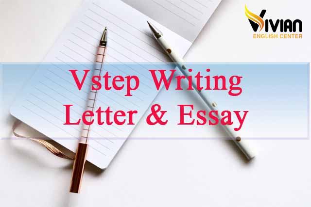 Vstep writing letter essay