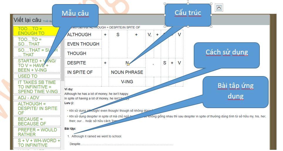 Rounded Rectangular Callout: Cách sử dụng